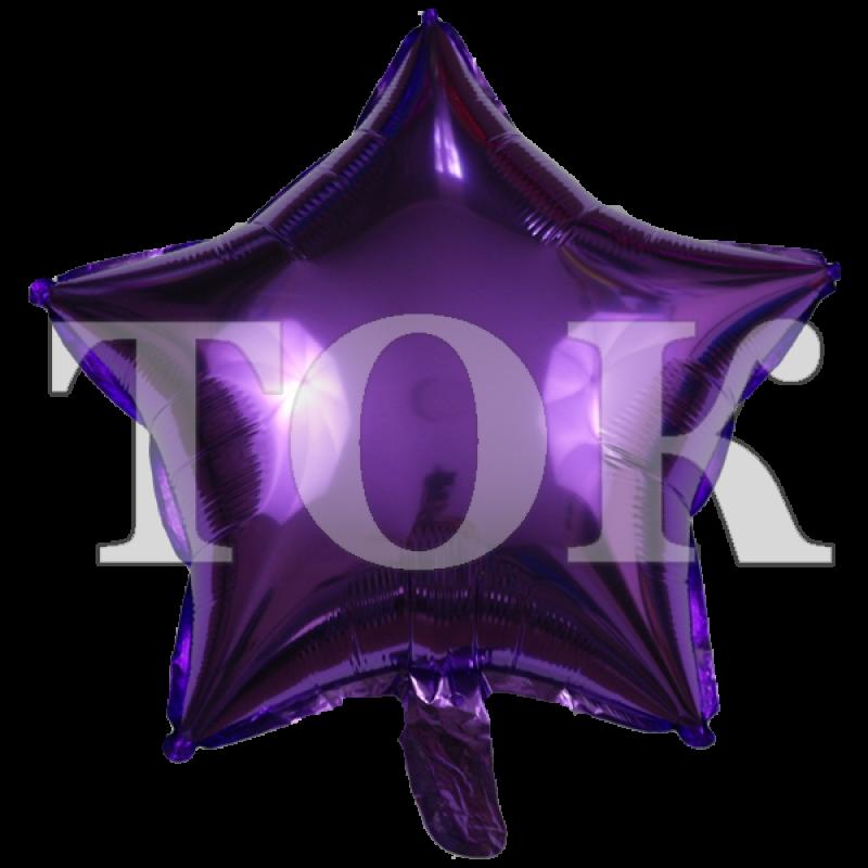 Звезда темно-фиолетовая
