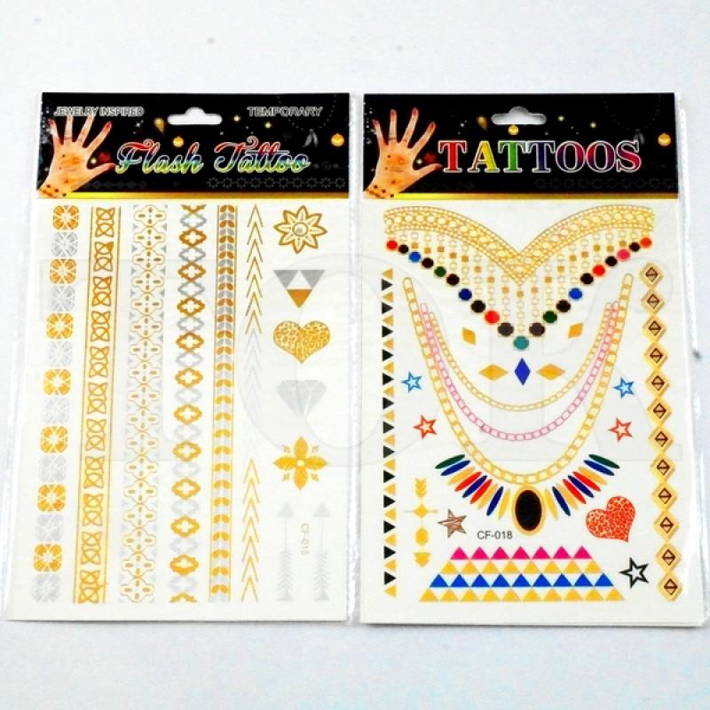 """Татуировки """"Золото"""" №906-5"""